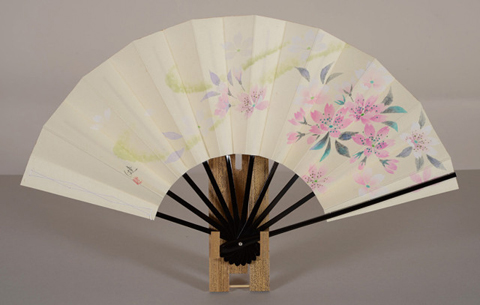 飾り扇「桜」